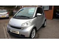 IMMACULATE 2010 SMART FORTWO 0.8 DIESEL, FREE TO TAX, LOW MILEAGE AND LONG MOT!