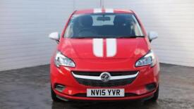 2015 Vauxhall Corsa 2015 15 Vauxhall Corsa 1.2 Special Edition Sting Petrol red