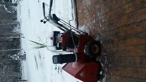 electric start self propelled snow blower