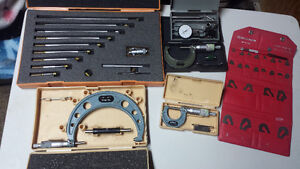 Machinist Tools For Sale (Mitutoyo)