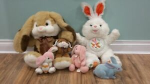 Plush Animal Bunny Patch