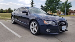 2009 Audi A5 Mid night Blue for SALE