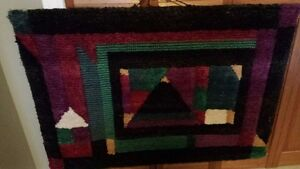 Large fibre/wool picture great for living room or office