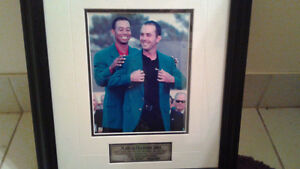 PICTURE OF MIKE WEIR AND TIGER WOODS-$25 FIRM Peterborough Peterborough Area image 2