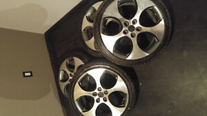 Mags VW-GTI + summer tires rare !!!