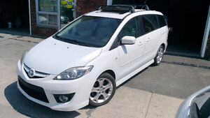 2008 Mazda Mazda5 GT Fourgonnette 6 Places Blanc Perle