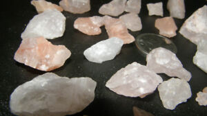 VINTAGE QUARTZ AND OTHER STONES FOR JEWELLERY MAKING