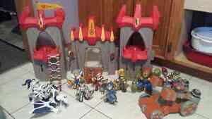 Radix Adventure Castle with all characters seen