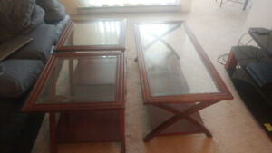 Aberdeen 3 piece coffee table set by Andover Mills