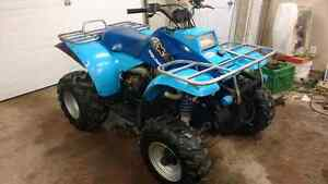 1992 polaris 250 4x4 with new top end $1600