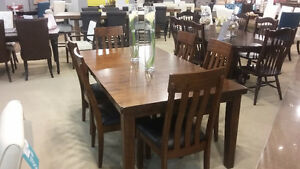 Solid Dining Room Set that comes with 6 Chairs - Only $1499.00