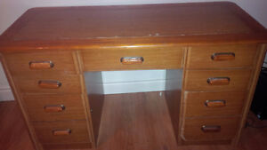 Desk with shelves for sale