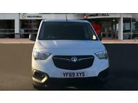2019 Vauxhall COMBO CARGO Combo L1 Diesel 2000 1.6 Turbo D 75ps H1 Edition Van V