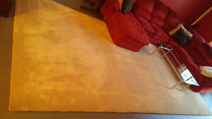 Huge Wool Carpet and Underpad