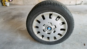 205 55R 16 Winter Tires set of 4 on rims