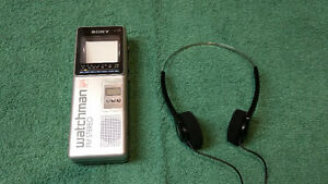Sony Watchman TV and FM Stereo