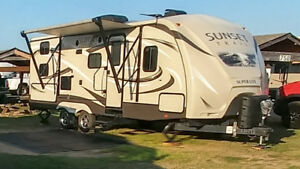 Roulotte Sunset trail 240BH 2015, 24 pied