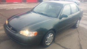 2000 Toyota Corolla Sedan Immaculate condition