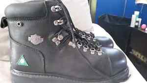Harley Davidson size 11 men's riding boots (never wore)