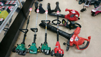 Trimmers and leaf blowers!!!
