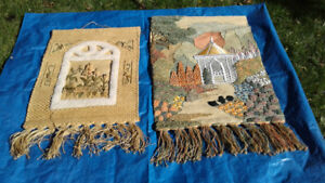 WOVEN WALL TAPESTRIES    $20.00 EA.