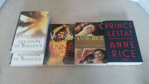 Romans de Anne Rice