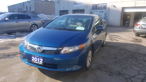 2012 HONDA CIVIC LX SEDAN LOADED WARRANTY FINANCE 86KM