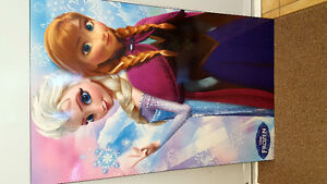 DISNEY FROZEN WOODEN PICTURE OF ELSA