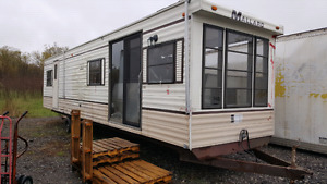 40' mobile trailer home for sale/trade