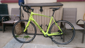 Specialised sl4 carbon fibre racing bike like new 21inch frame
