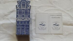 1600 Delft Blue Fantaziegevel Canal Building from Holland