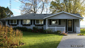 Vacation Rental - Brighton Ontario - Lake Front on Lake Ontario