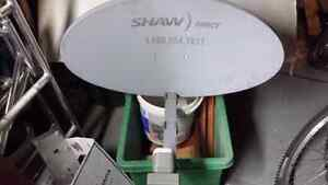 Shaw Starchoice dish with LNB