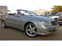 2005 MERCEDES CLK CLK320 AVANTGARDE CONVERTIBLE LOW MILEAGE FOR YEAR A F