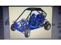 Wanted Gs Moon 260 or Kinroad 250 buggy fram