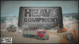 Finance Heavy Equipment for as Low as $50/week!!