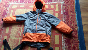 Alpinetek snow jacket and two snow pants Small (7/8)