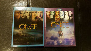 FIRST 2 BLU RAY SEASONS OF ONCE UPON A TIME Windsor Region Ontario image 1