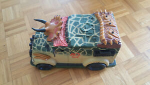 Dinosaur - dinosaure truck avec poulie - with pulley