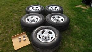 Dodge ram 1500 rims with tires
