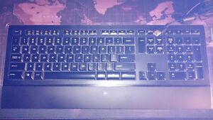 Logitech illuminated keyboard G5 mouse and F710 controller