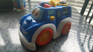 TOY POLICE CAR FOR SALE! WORKS GREAT! MINT!