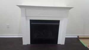 Astria Fireplace with unit