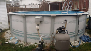 Pool 15 feet round for sale