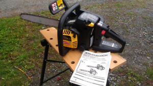 35cc McCulloch Chainsaw make an offer