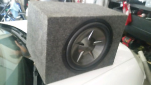 """Clarion 12"""" car subwoofer with box $70"""