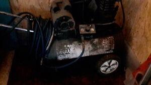 Compressor and air tools