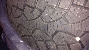 Winter Tires 195/60R15 with steel rims