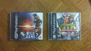 CTR & Wild Arms 2 PS1
