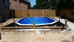 Above Ground Pool Installations/Decreased Pricing